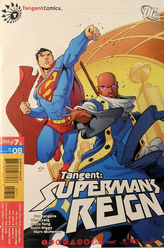 Cover of Tangent: Supermans Reign (2008 Ltd) #7. One of 250,000 Vintage American Comics on sale from Krypton!