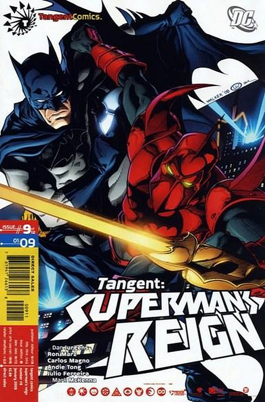 Cover of Tangent: Supermans Reign (2008 Ltd) #9. One of 250,000 Vintage American Comics on sale from Krypton!