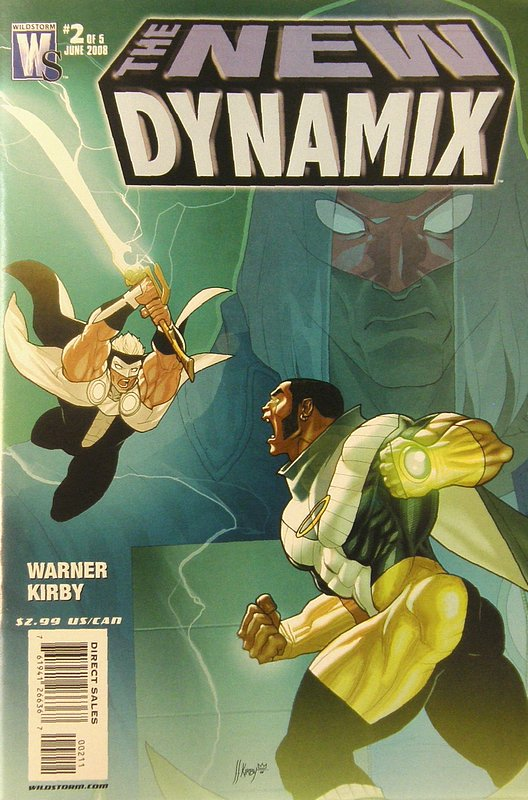Cover of New Dynamix (2008 Ltd) #2. One of 250,000 Vintage American Comics on sale from Krypton!