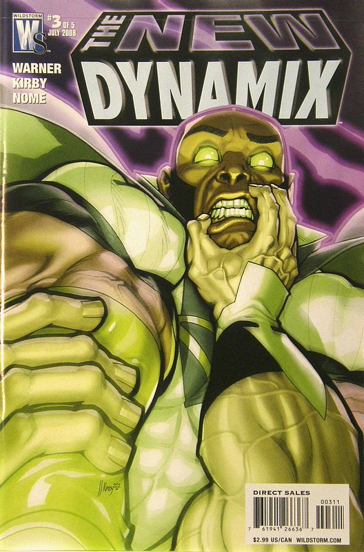 Cover of New Dynamix (2008 Ltd) #3. One of 250,000 Vintage American Comics on sale from Krypton!
