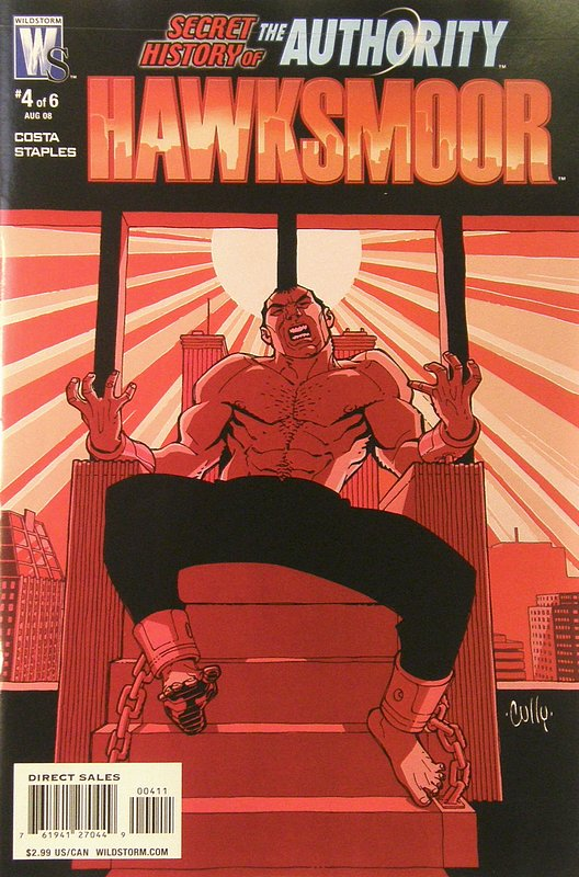 Cover of Secret History of the Authority: Jack Hawksmoor #4. One of 250,000 Vintage American Comics on sale from Krypton!
