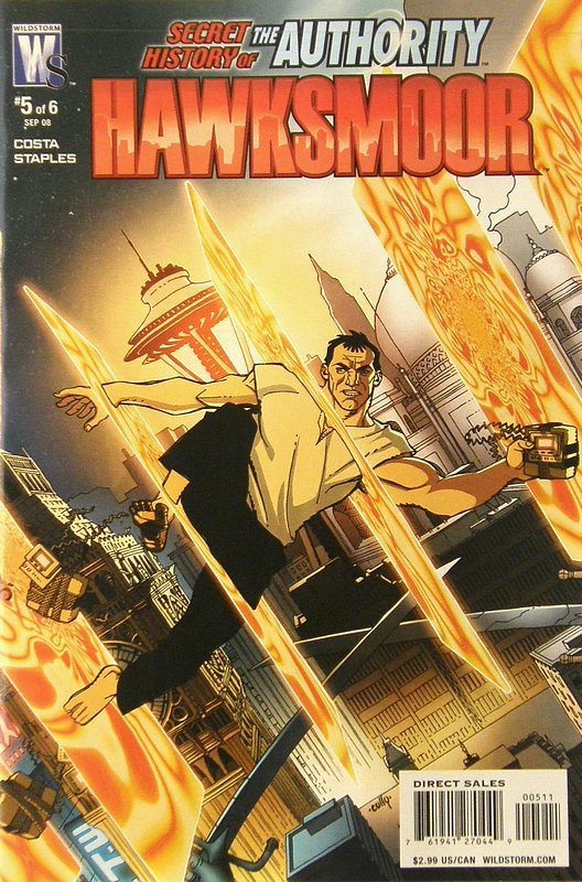 Cover of Secret History of the Authority: Jack Hawksmoor #5. One of 250,000 Vintage American Comics on sale from Krypton!