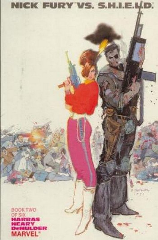 Cover of Nick Fury vs SHIELD (1988 Ltd) #2. One of 250,000 Vintage American Comics on sale from Krypton!