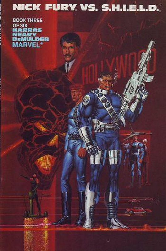 Cover of Nick Fury vs SHIELD (1988 Ltd) #3. One of 250,000 Vintage American Comics on sale from Krypton!