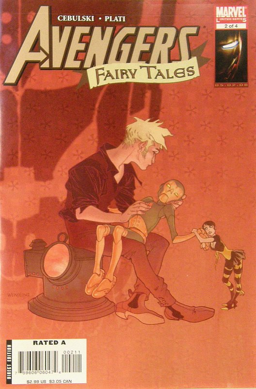 Cover of Avengers Fairy Tales (2008 Ltd) #2. One of 250,000 Vintage American Comics on sale from Krypton!