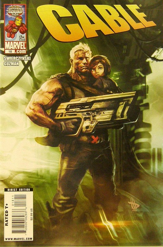 Cover of Cable (Vol 2) #18. One of 250,000 Vintage American Comics on sale from Krypton!