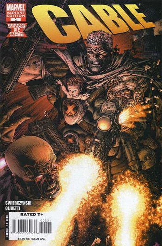 Cover of Cable (Vol 2) #2. One of 250,000 Vintage American Comics on sale from Krypton!