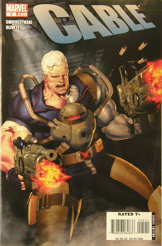 Cover of Cable (Vol 2) #5. One of 250,000 Vintage American Comics on sale from Krypton!