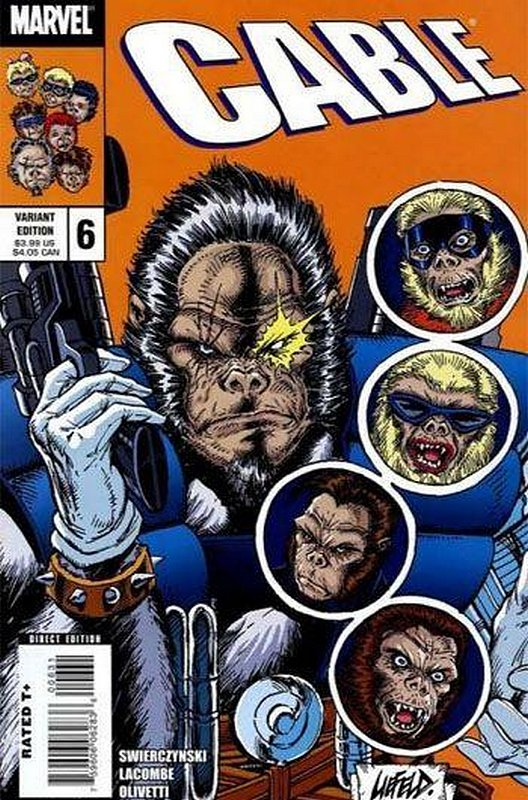 Cover of Cable (Vol 2) #6. One of 250,000 Vintage American Comics on sale from Krypton!