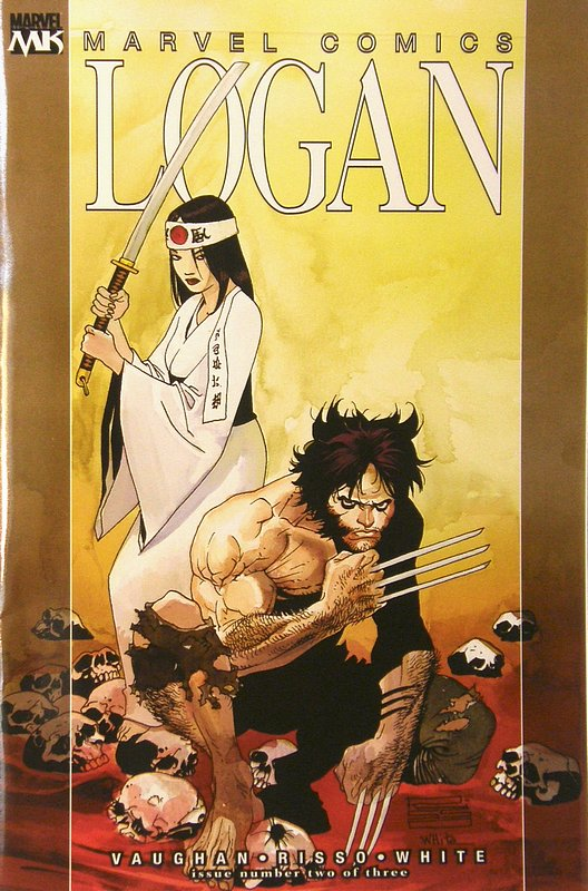 Cover of Logan (2008 Ltd) #2. One of 250,000 Vintage American Comics on sale from Krypton!
