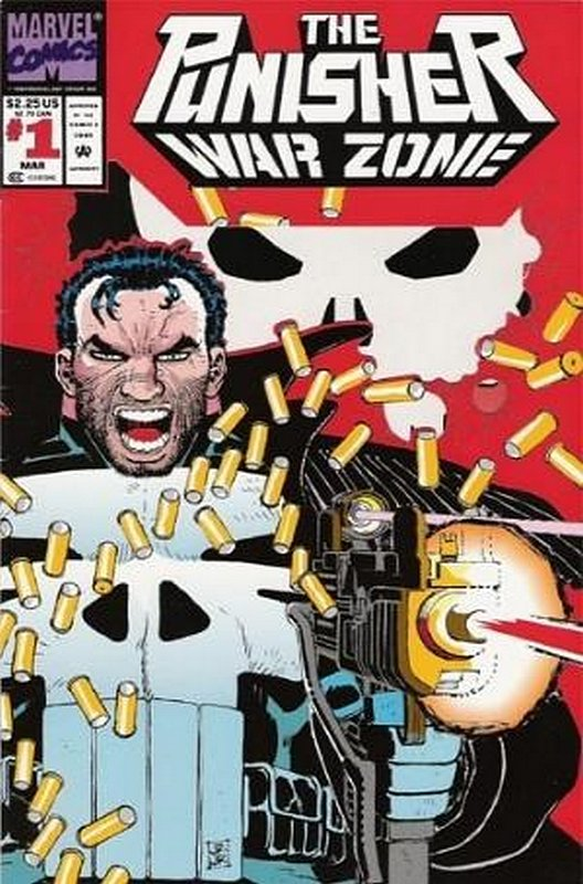 Cover of Punisher War Zone (Vol 1) #1. One of 250,000 Vintage American Comics on sale from Krypton!