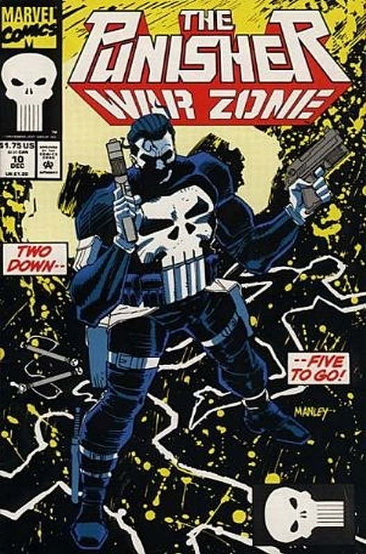 Cover of Punisher War Zone (Vol 1) #10. One of 250,000 Vintage American Comics on sale from Krypton!
