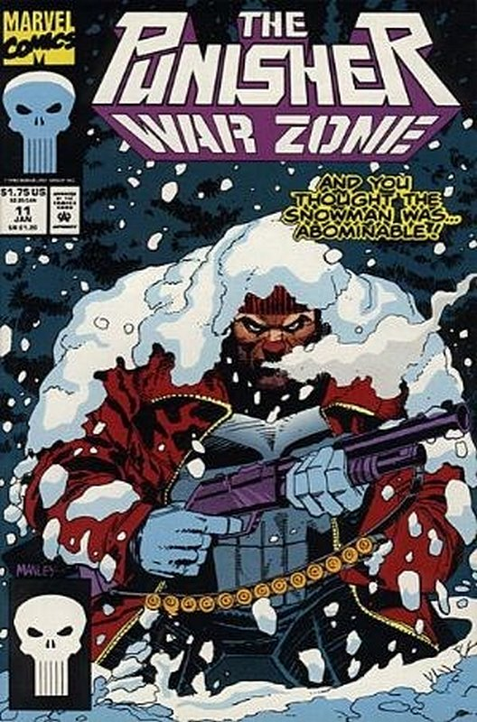 Cover of Punisher War Zone (Vol 1) #11. One of 250,000 Vintage American Comics on sale from Krypton!