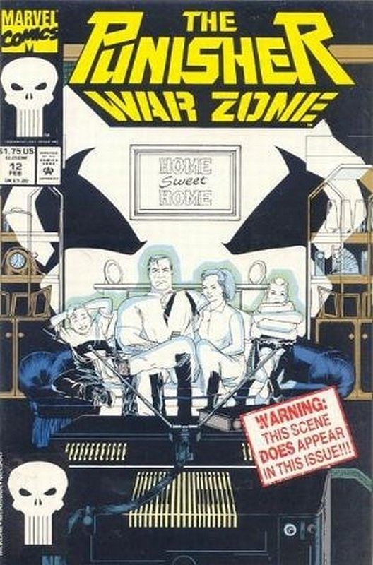 Cover of Punisher War Zone (Vol 1) #12. One of 250,000 Vintage American Comics on sale from Krypton!