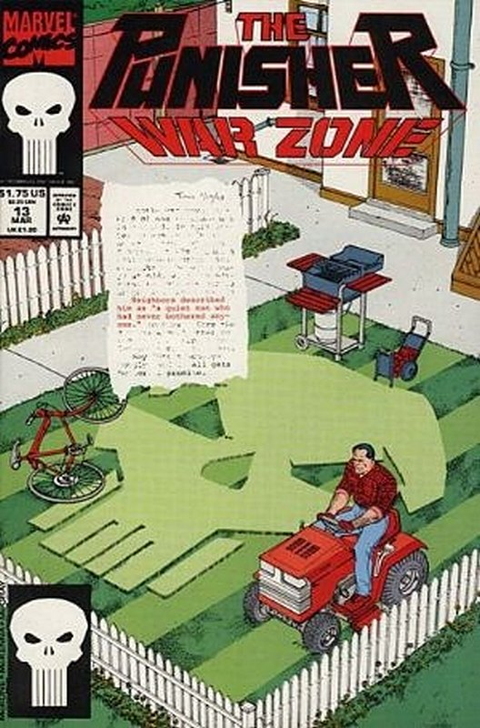 Cover of Punisher War Zone (Vol 1) #13. One of 250,000 Vintage American Comics on sale from Krypton!