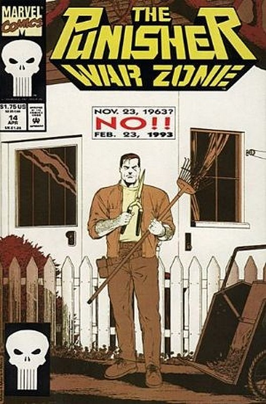 Cover of Punisher War Zone (Vol 1) #14. One of 250,000 Vintage American Comics on sale from Krypton!