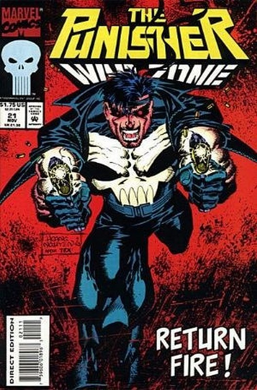 Cover of Punisher War Zone (Vol 1) #21. One of 250,000 Vintage American Comics on sale from Krypton!