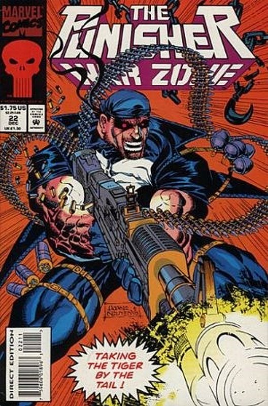Cover of Punisher War Zone (Vol 1) #22. One of 250,000 Vintage American Comics on sale from Krypton!