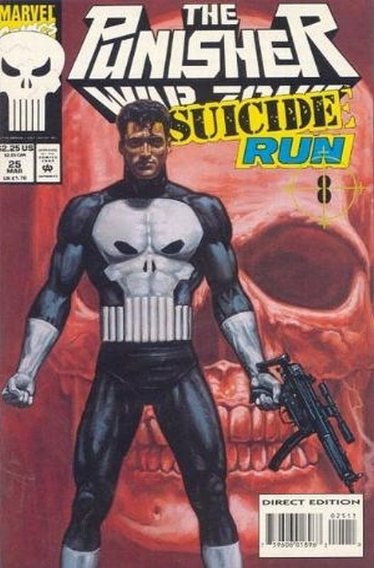 Cover of Punisher War Zone (Vol 1) #25. One of 250,000 Vintage American Comics on sale from Krypton!
