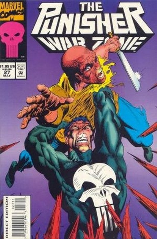 Cover of Punisher War Zone (Vol 1) #27. One of 250,000 Vintage American Comics on sale from Krypton!