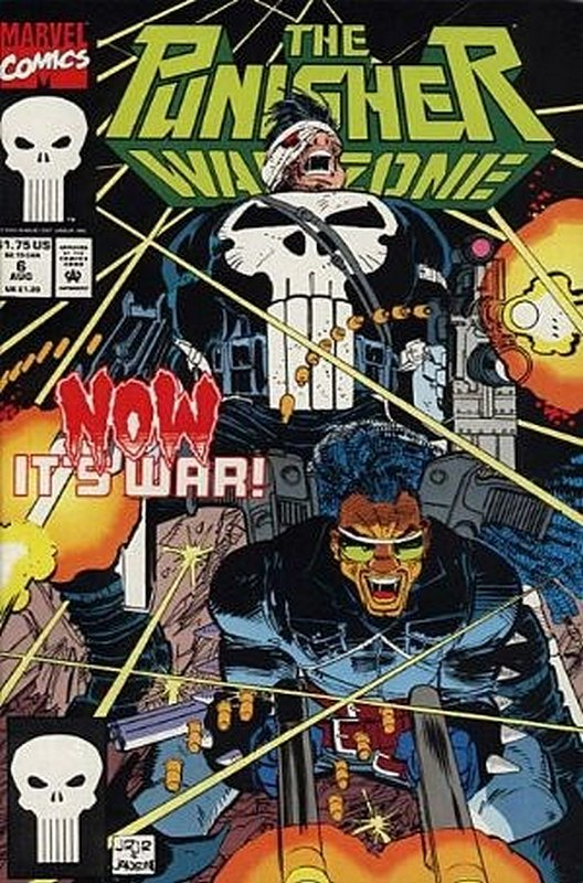 Cover of Punisher War Zone (Vol 1) #6. One of 250,000 Vintage American Comics on sale from Krypton!