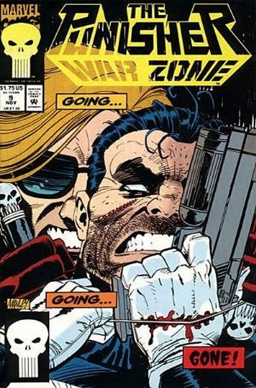 Cover of Punisher War Zone (Vol 1) #9. One of 250,000 Vintage American Comics on sale from Krypton!