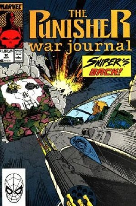 Cover of Punisher War Journal (Vol 1) #10. One of 250,000 Vintage American Comics on sale from Krypton!