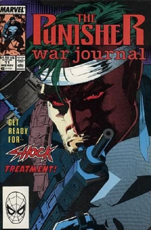 Cover of Punisher War Journal (Vol 1) #11. One of 250,000 Vintage American Comics on sale from Krypton!
