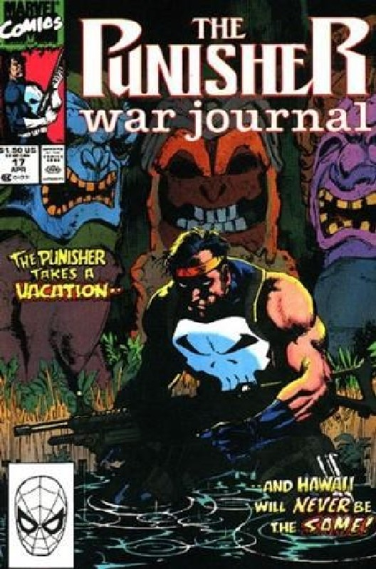 Cover of Punisher War Journal (Vol 1) #17. One of 250,000 Vintage American Comics on sale from Krypton!