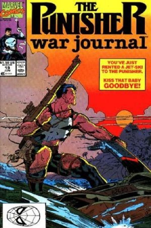 Cover of Punisher War Journal (Vol 1) #19. One of 250,000 Vintage American Comics on sale from Krypton!