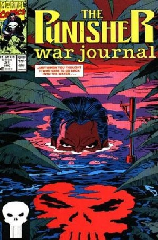 Cover of Punisher War Journal (Vol 1) #21. One of 250,000 Vintage American Comics on sale from Krypton!