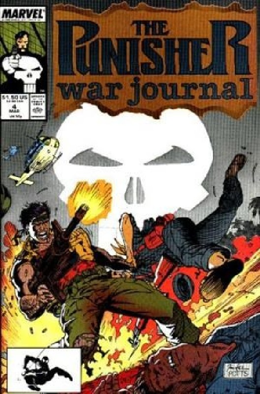 Cover of Punisher War Journal (Vol 1) #4. One of 250,000 Vintage American Comics on sale from Krypton!