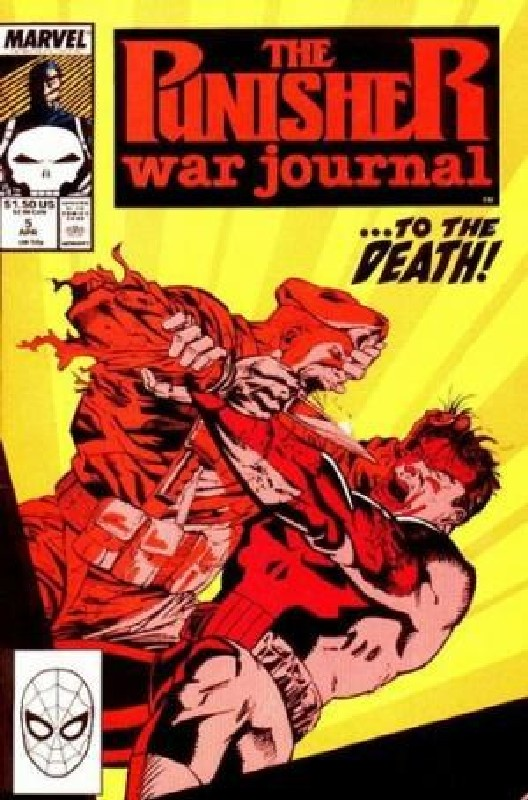 Cover of Punisher War Journal (Vol 1) #5. One of 250,000 Vintage American Comics on sale from Krypton!
