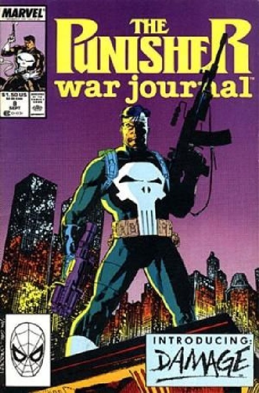 Cover of Punisher War Journal (Vol 1) #8. One of 250,000 Vintage American Comics on sale from Krypton!