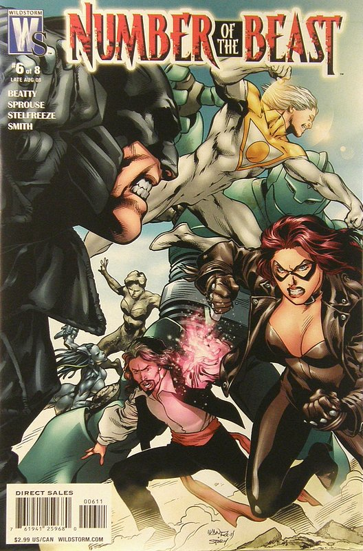 Cover of Number of the Beast (2008 Ltd) #6. One of 250,000 Vintage American Comics on sale from Krypton!