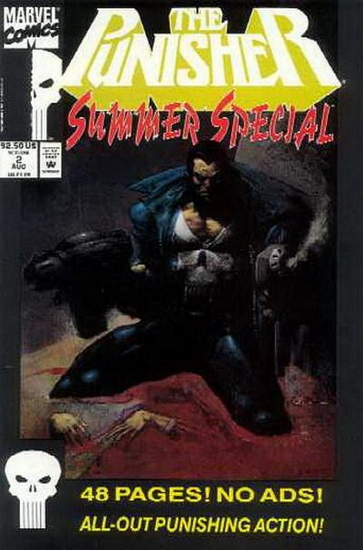 Cover of Punisher Summer Special #2. One of 250,000 Vintage American Comics on sale from Krypton!