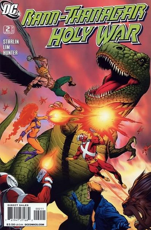 Cover of Rann Thanagar: Holy War (2008 Ltd) #2. One of 250,000 Vintage American Comics on sale from Krypton!