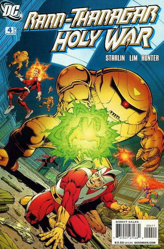 Cover of Rann Thanagar: Holy War (2008 Ltd) #4. One of 250,000 Vintage American Comics on sale from Krypton!