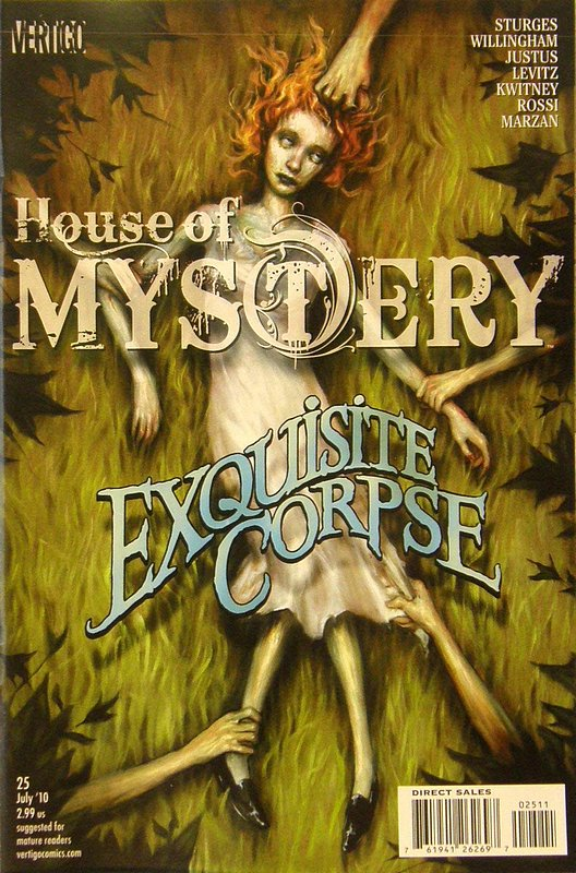 Cover of House of Mystery (Vol 2) #25. One of 250,000 Vintage American Comics on sale from Krypton!