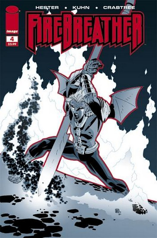 Cover of Firebreather (2008 Ltd) #4. One of 250,000 Vintage American Comics on sale from Krypton!