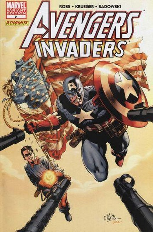 Cover of Avengers/Invaders (2008 Ltd) #2. One of 250,000 Vintage American Comics on sale from Krypton!