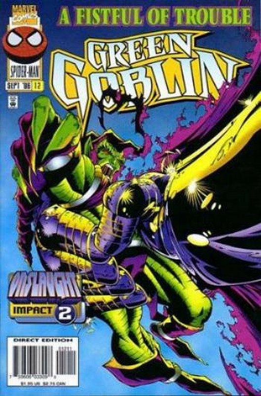Cover of Green Goblin (Vol 1) #12. One of 250,000 Vintage American Comics on sale from Krypton!
