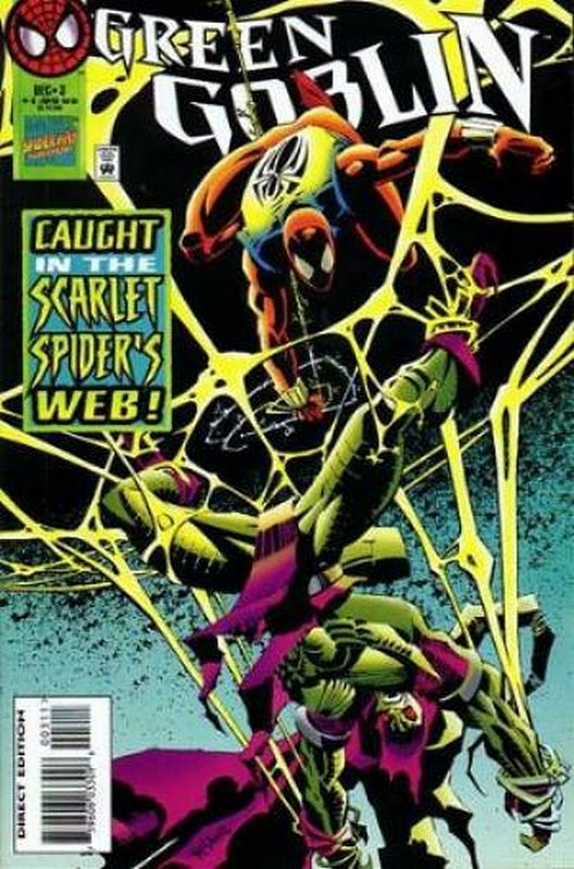 Cover of Green Goblin (Vol 1) #3. One of 250,000 Vintage American Comics on sale from Krypton!