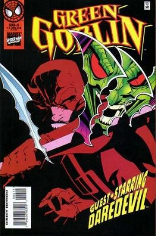 Cover of Green Goblin (Vol 1) #6. One of 250,000 Vintage American Comics on sale from Krypton!