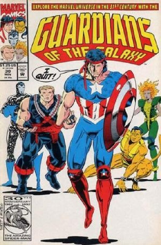 Cover of Guardians of the Galaxy (Vol 1) #30. One of 250,000 Vintage American Comics on sale from Krypton!