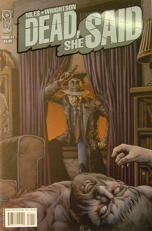 Cover of Dead She Said (Vol 1) #1. One of 250,000 Vintage American Comics on sale from Krypton!