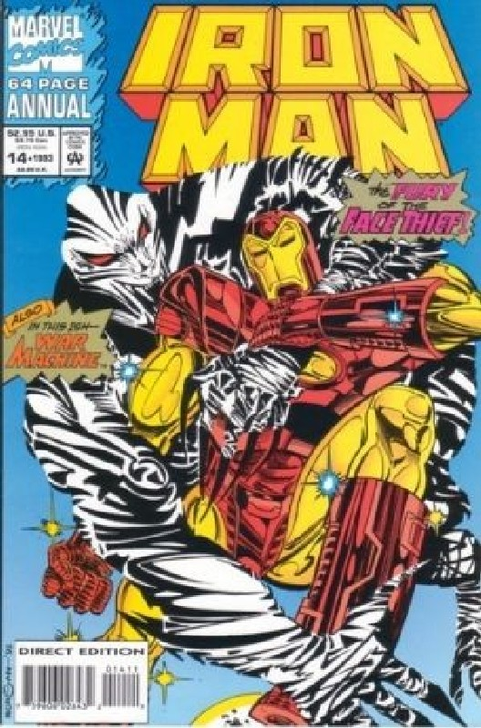 Cover of Iron Man Annual #14. One of 250,000 Vintage American Comics on sale from Krypton!