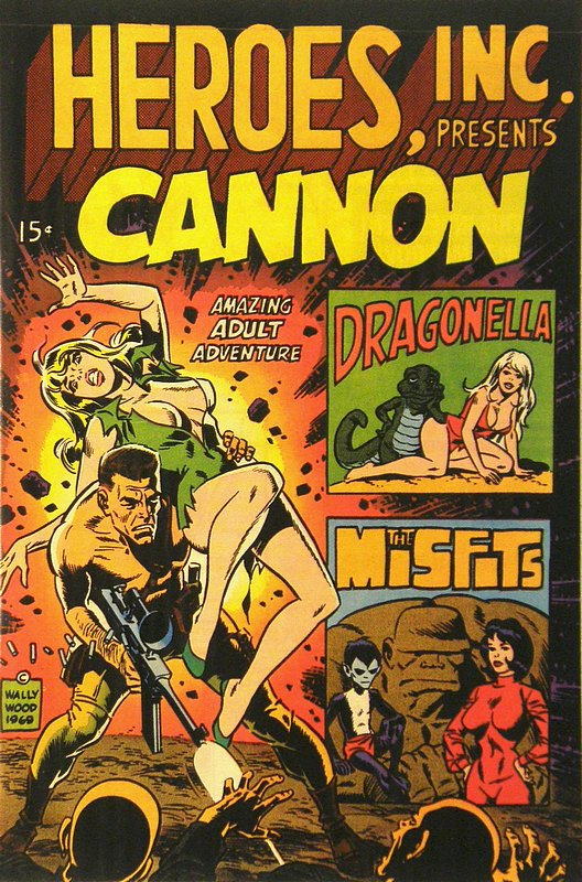 Cover of Heroes Inc, Presents Canon #1. One of 250,000 Vintage American Comics on sale from Krypton!