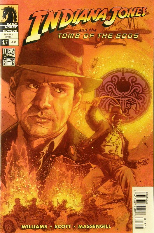 Cover of Indiana Jones & the Tomb of the Gods (2008 Ltd) #1. One of 250,000 Vintage American Comics on sale from Krypton!