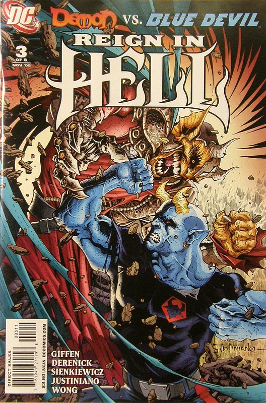 Cover of Reign in Hell (2008 Ltd) #3. One of 250,000 Vintage American Comics on sale from Krypton!